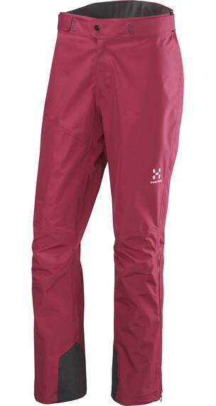 Haglöfs W's Roc Crevasse Pant Volcanic Pink